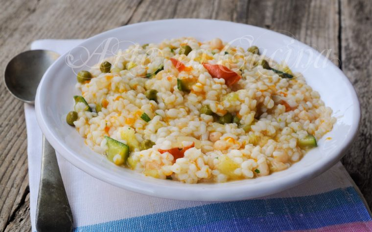 Minestrone alla napoletana con riso ricetta leggera