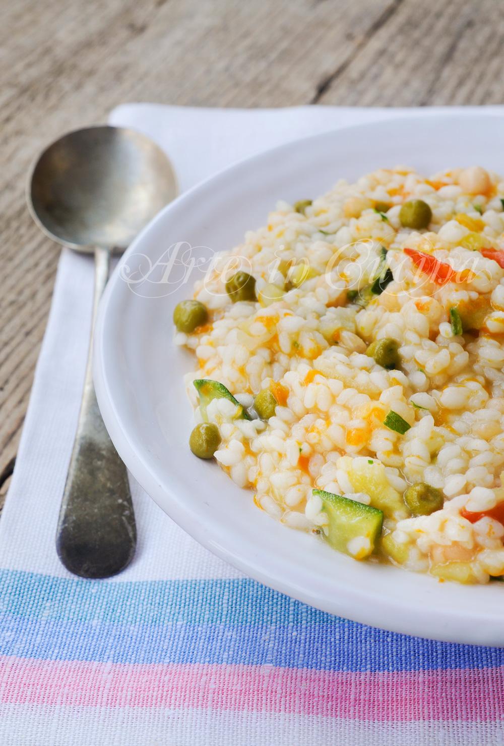 Minestrone alla napoletana con riso ricetta leggera vickyart arte in cucina