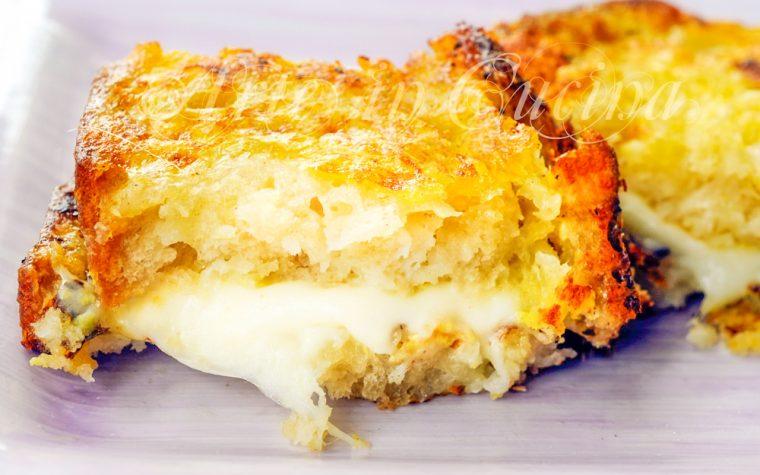 Mozzarella in carrozza ricetta napoletana