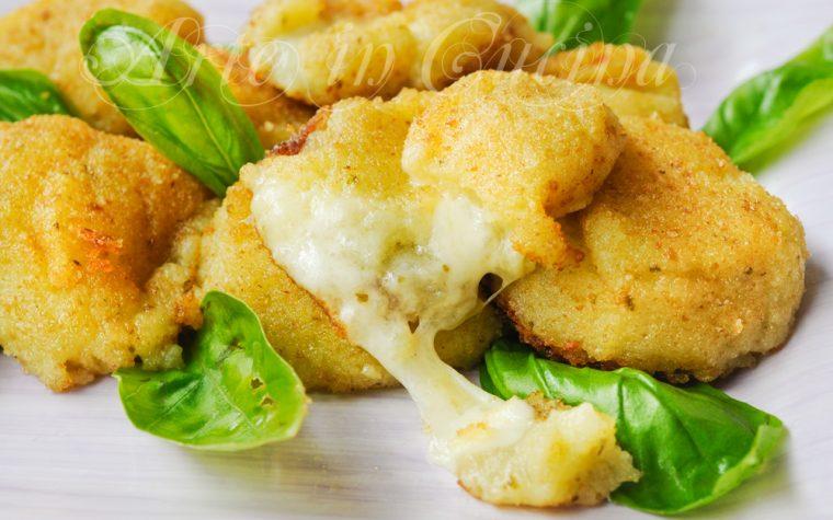 Polpette di patate al pesto e formaggio ricetta facile