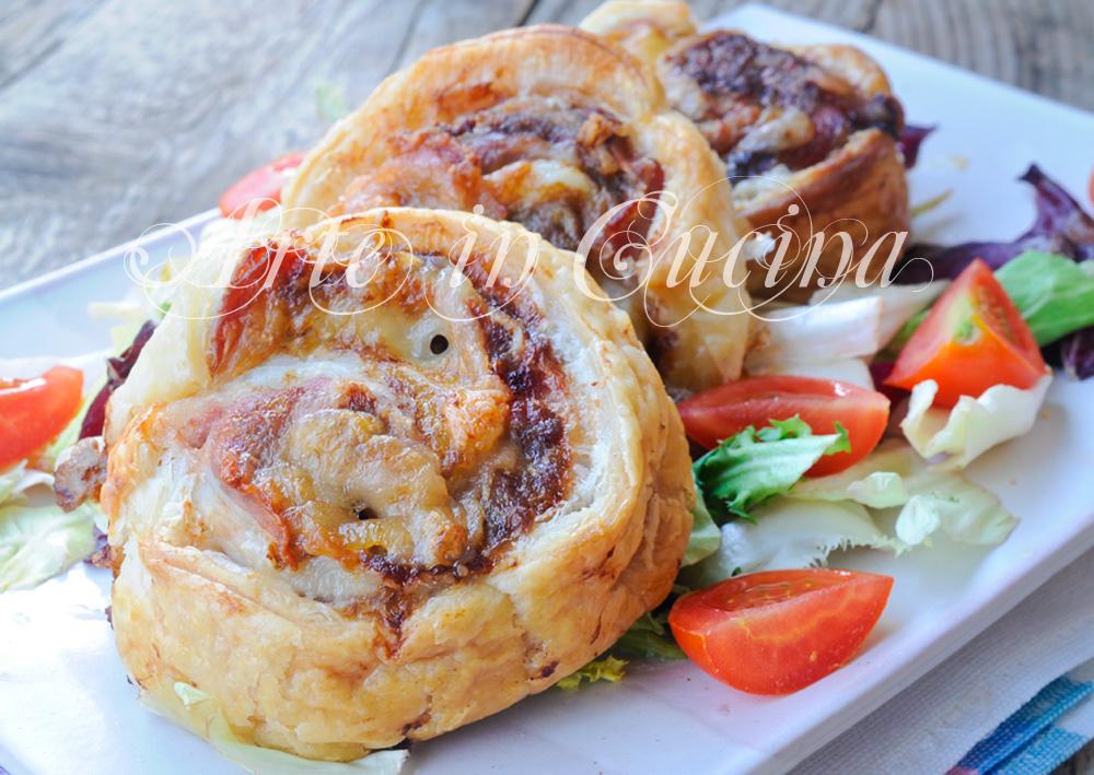 Polpettone in crosta di sfoglia con pancetta veloce vickyart arte in cucina
