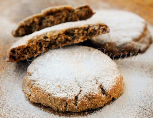 Polvorones biscotti alle mandorle ricetta spagnola