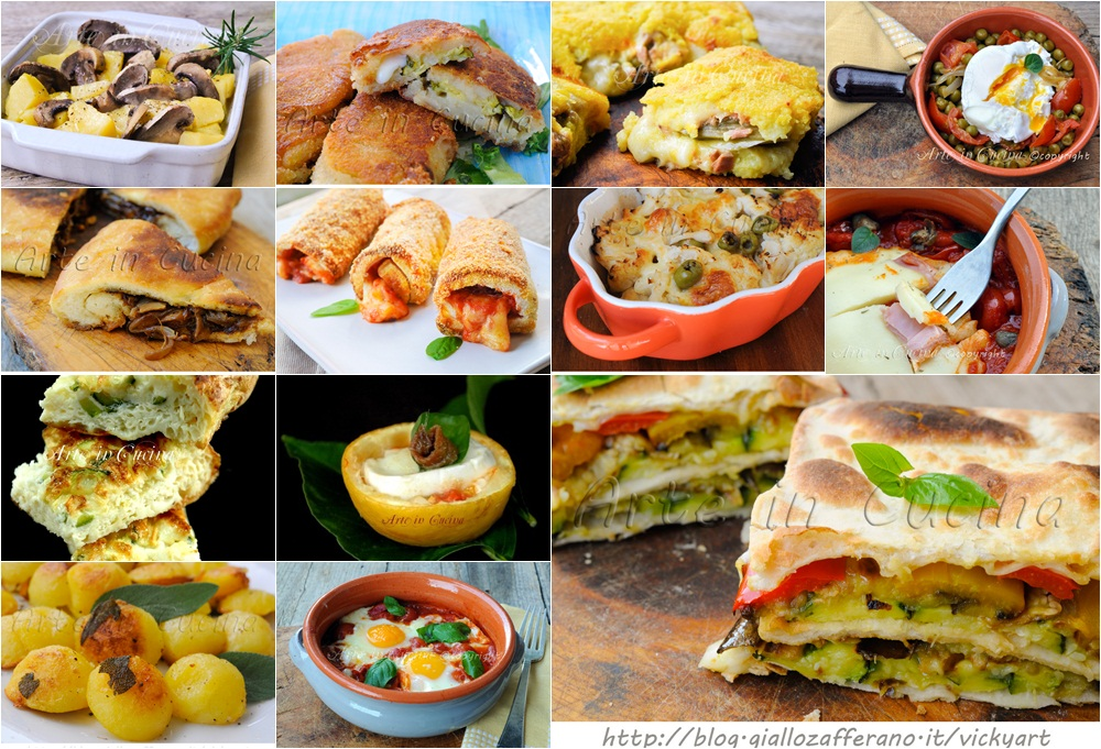 Ricette senza carne con verdure facili | Arte in Cucina