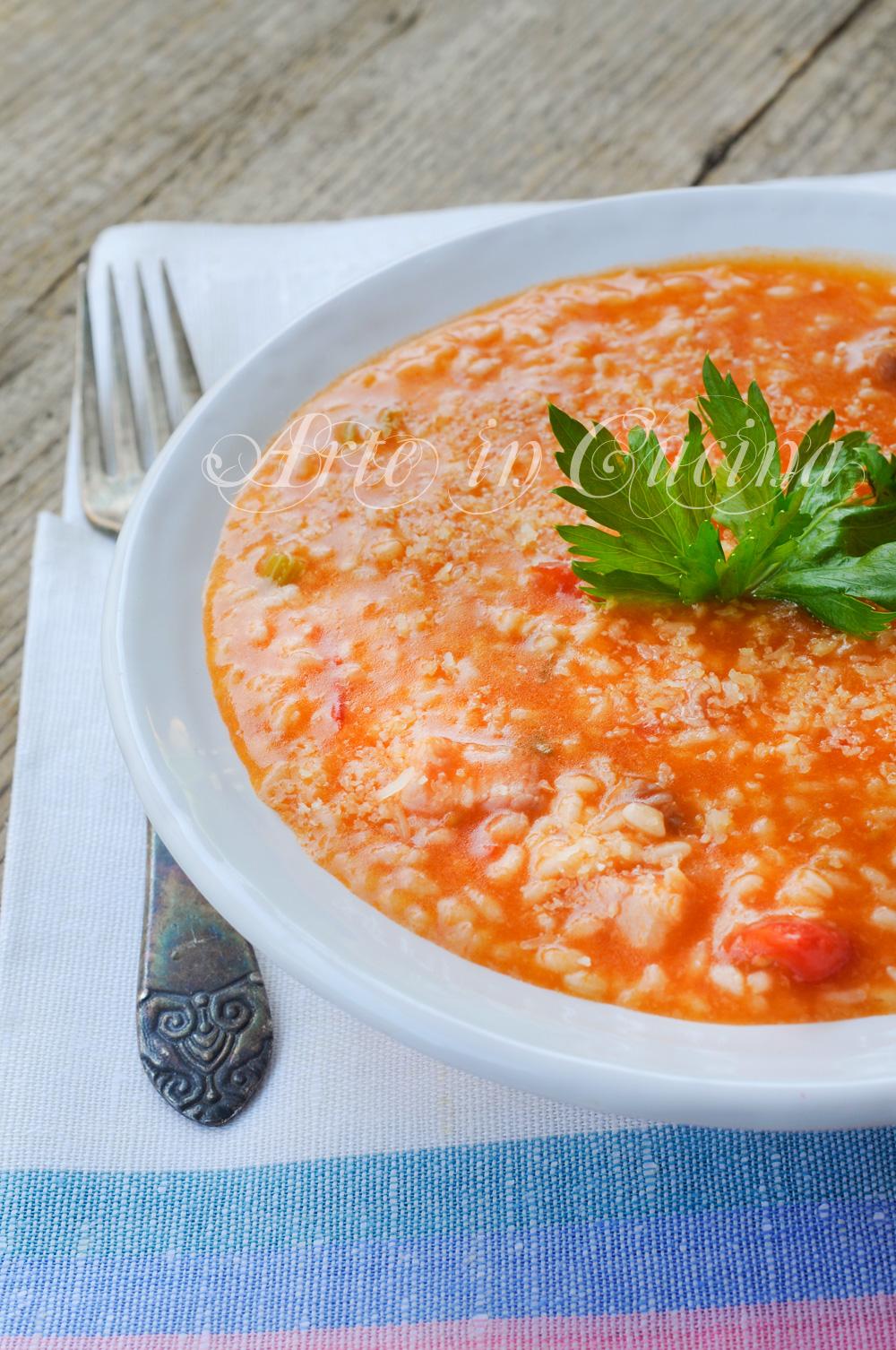 Risotto alla napoletana ricetta primo piatto facile vickyart arte in cucina