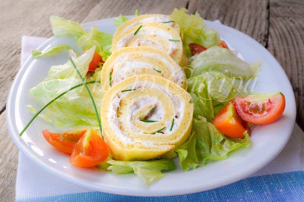 Ben noto Rotolo salato farcito veloce con tonno e ricotta | Arte in Cucina HI95
