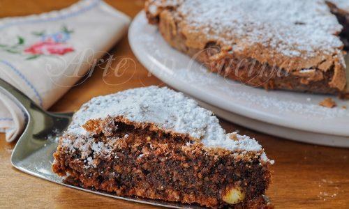 Torta cioccolato e mandorle veloce senza farina