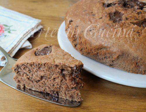 Torta margherita al cioccolato senza burro e olio