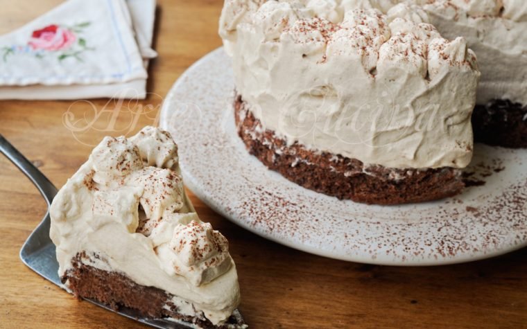 Torta mousse al caffè ricetta facile veloce