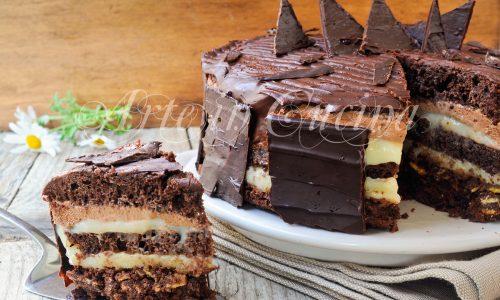 Torta setteveli siciliana ricetta dolce per le feste