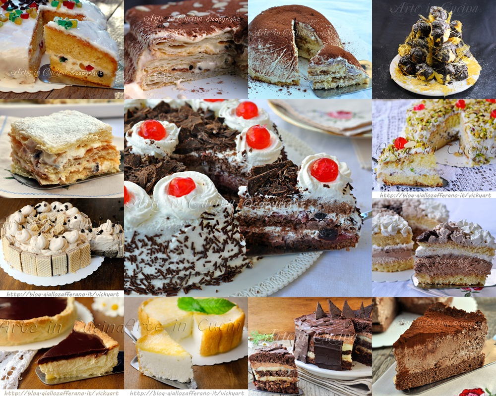 Torte per natale ricette facili e buone arte in cucina for Ricette facili in cucina