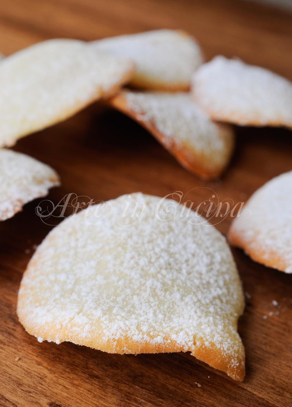 Tuiles biscotti francesi al burro chips dolci vickyart arte in cucina