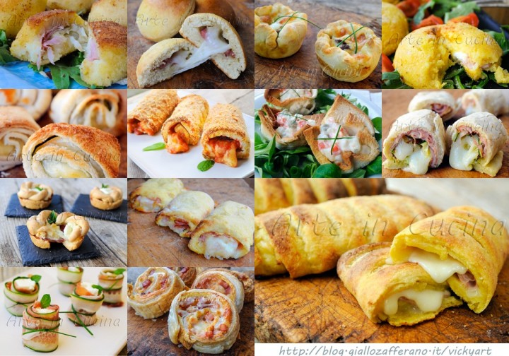 Antipasti per capodanno a base di carne sfiziose arte in cucina - Menu per ospiti a pranzo ...