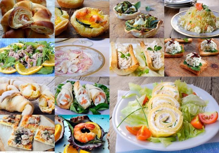 Antipasti cenone vigilia di capodanno ricette di mare for Ricette pesce facili