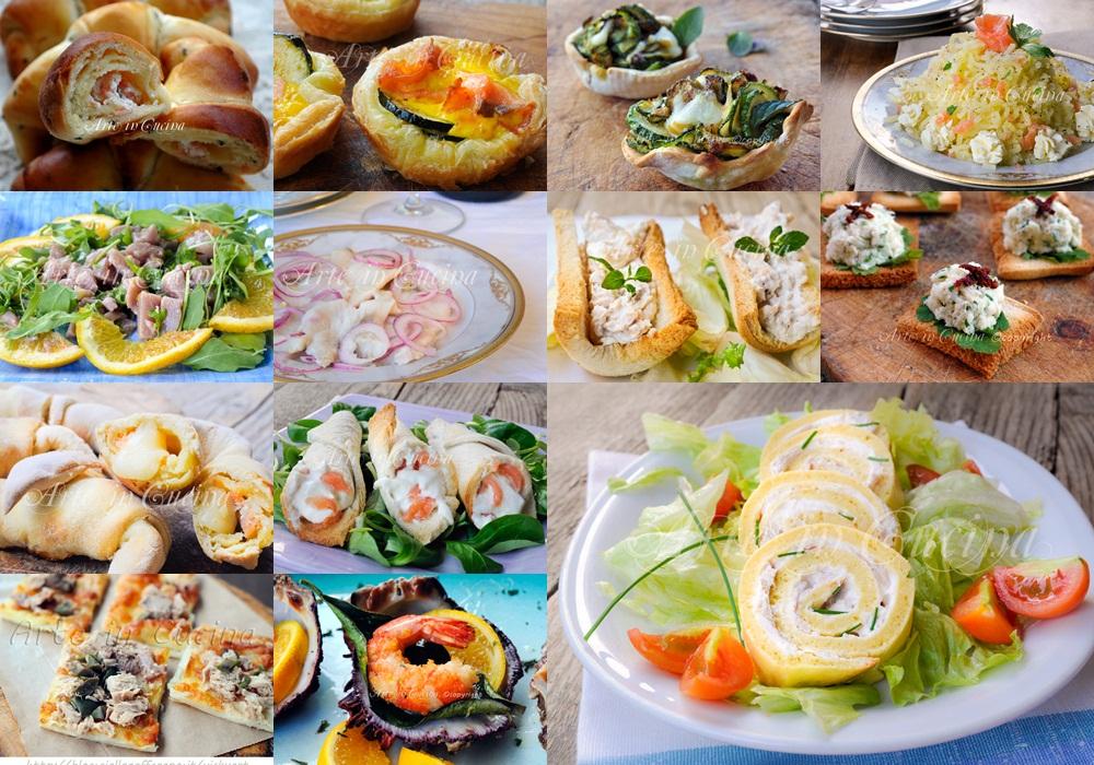 Antipasti cenone vigilia di capodanno ricette di mare for Ricette di cucina antipasti