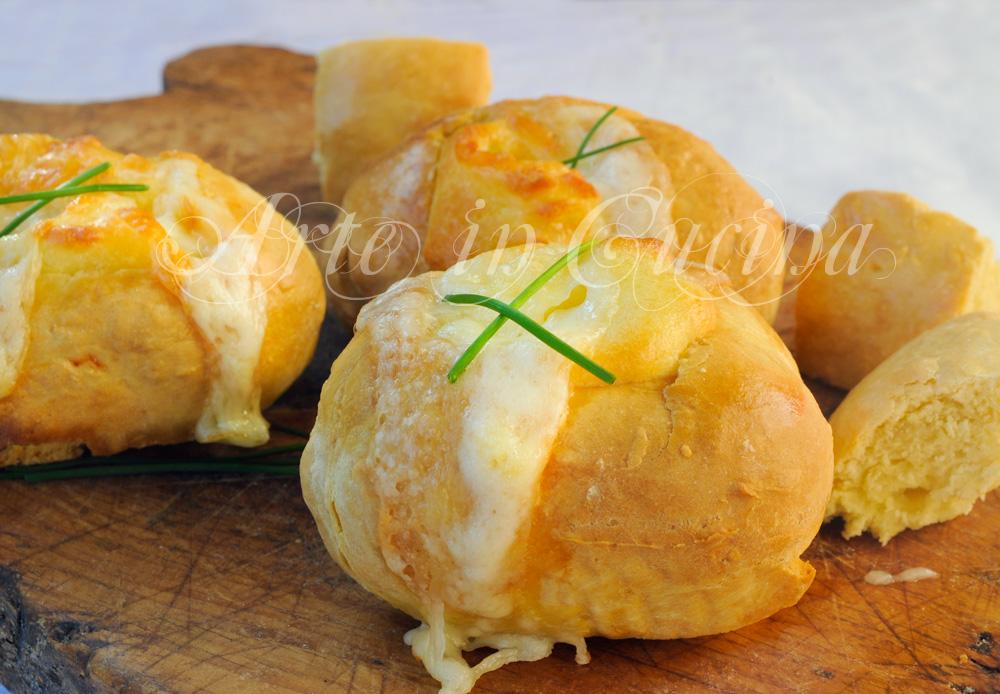 Barchette di panini veloci al formaggio finger food vickyart arte in cucina