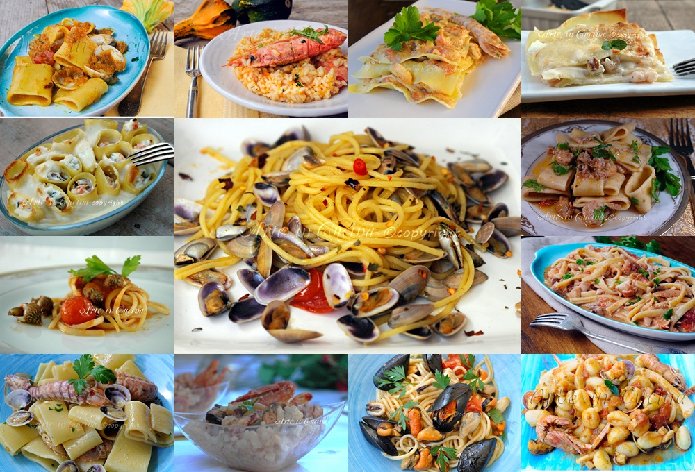 Cenone di capodanno primi piatti ricette di pesce arte for Cucina primi piatti di pesce