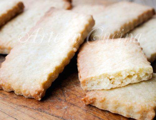 Pastarelle salentine biscotti da inzuppo veloci