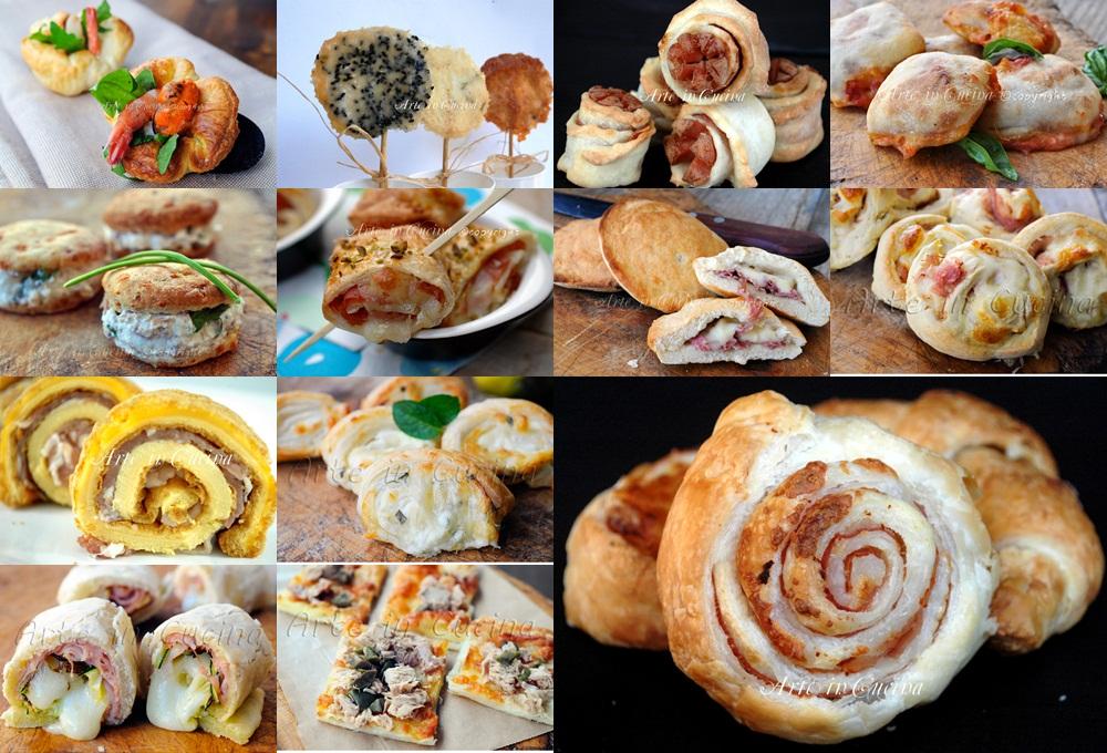 Molto Stuzzichini e finger food veloci ricette sfiziose | Arte in Cucina DN83