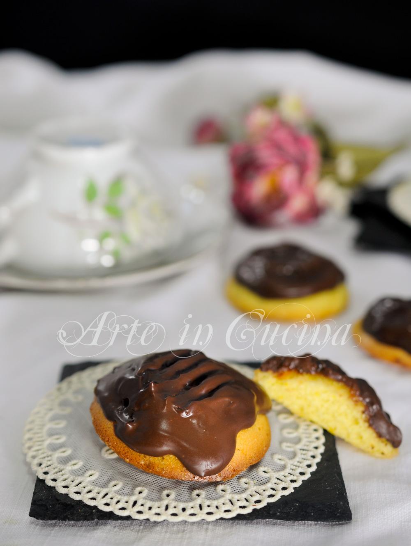 Biscotti jaffa arancia e cioccolato ricetta veloce vickyart arte in cucina