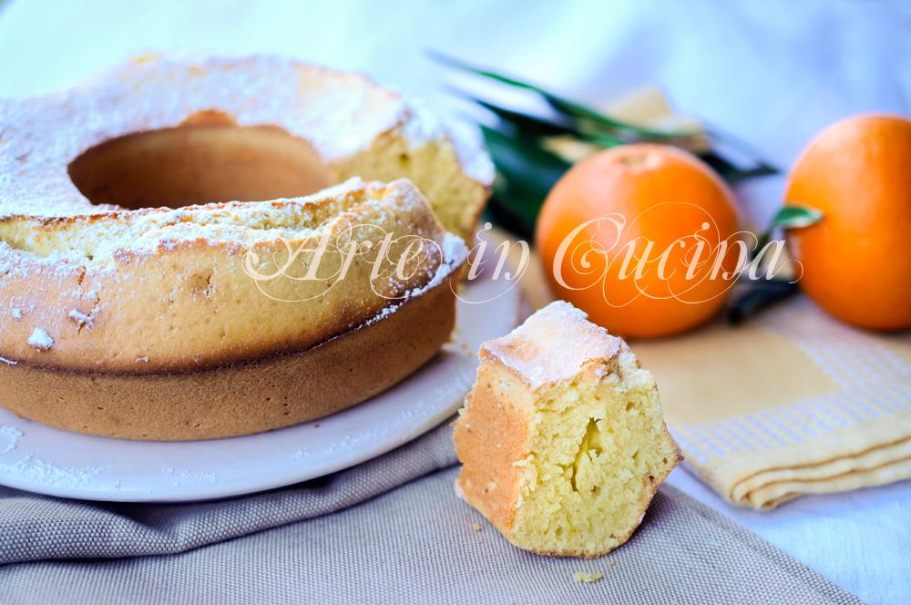 Ciambella all 39 olio all 39 arancia facile e veloce arte in for Cucina veloce e semplice