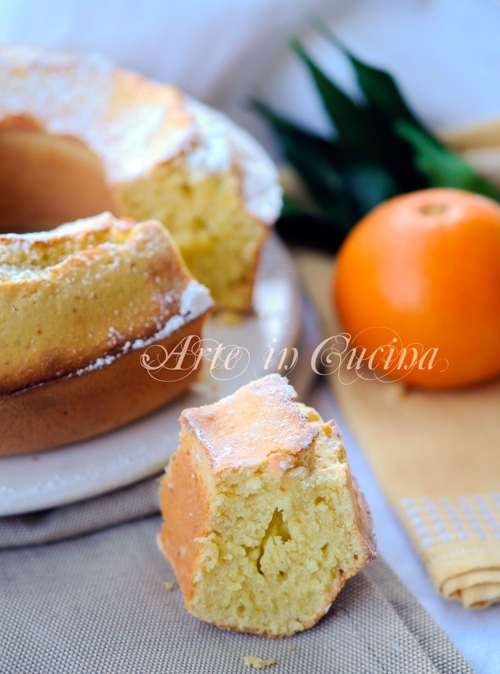 Ciambella all'olio all'arancia facile e veloce vickyart arte in cucina