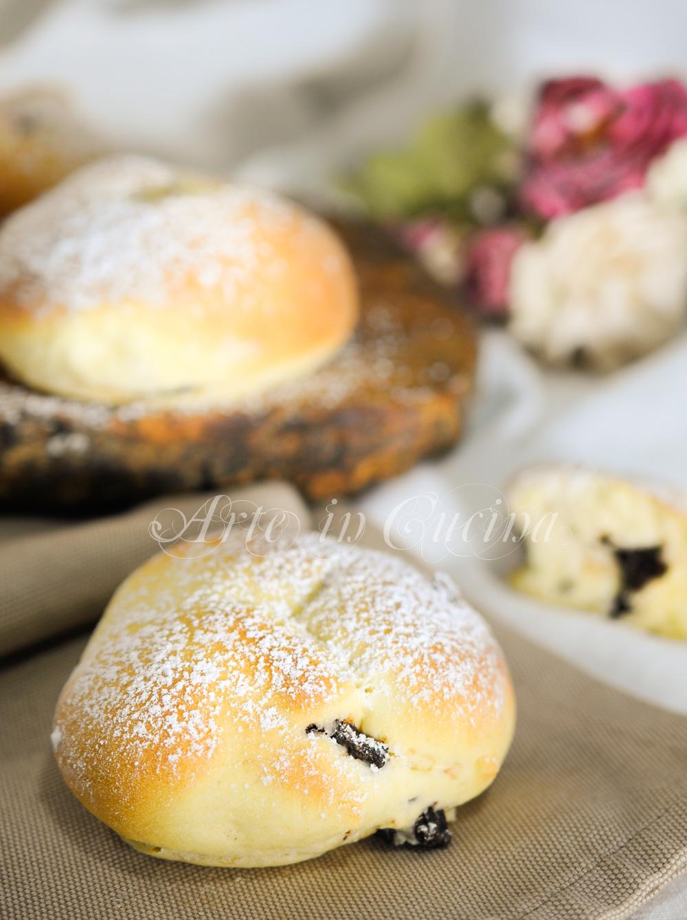 Ciambelle al mascarpone e cioccolato al forno vickyar arte in cucina
