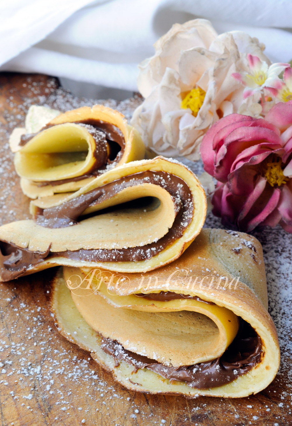 Ricette crepes dolci nutella