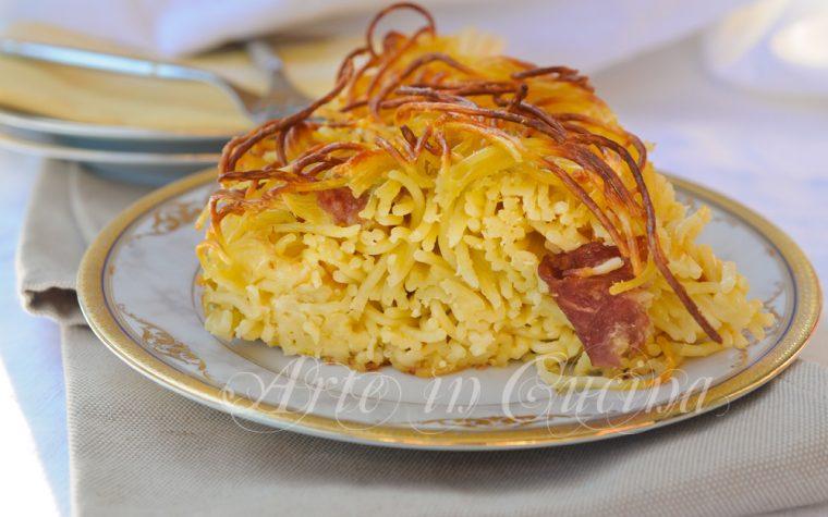 Frittata di spaghetti al forno ricetta facile