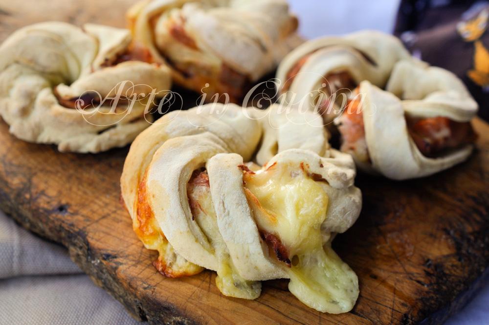 Panini intrecciati farciti finger food veloci vickyart arte in cucina