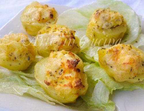 Patate al formaggio ripiene ricetta facile