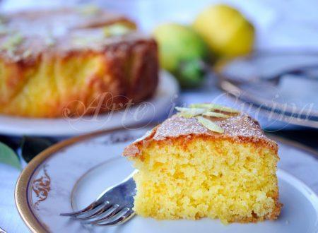 Torta madeira al limone dolce facile e veloce
