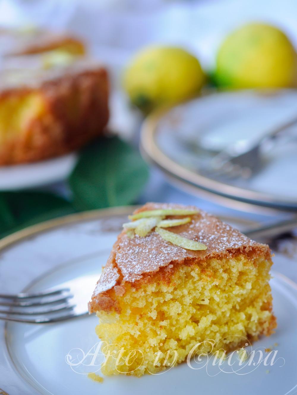 Torta madeira al limone dolce facile e veloce arte in cucina for Cucina dolce