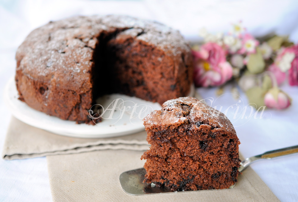 Torta soffice al cioccolato e arancia veloce c25c30fbc6
