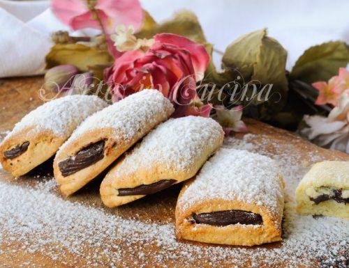 Biscotti cuore di cioccolato ricetta veloce