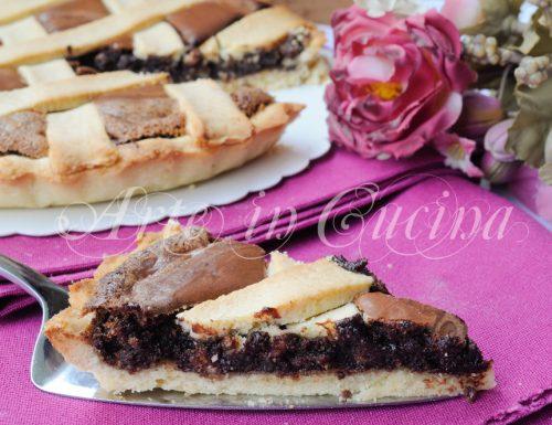 Crostata delizia al cioccolato facile e veloce