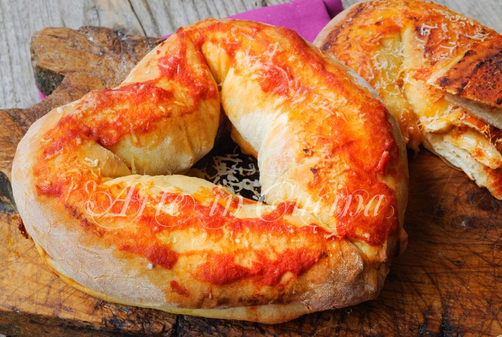 Cuori di pizza ripieni ricetta sfiziosa S.Valentino
