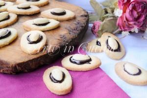 Occhi di mandorle biscotti facili e veloci