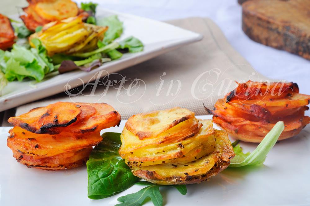 Patate sfiziose e saporite al forno facili e veloci vickyart arte in cucina