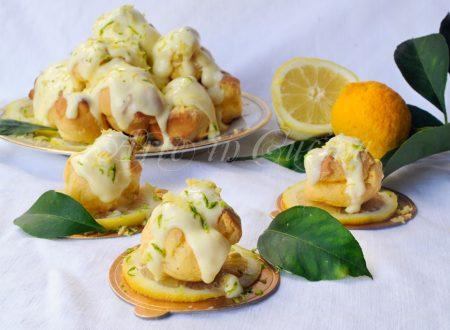 Profiteroles al limone di Sal de Riso al limoncello