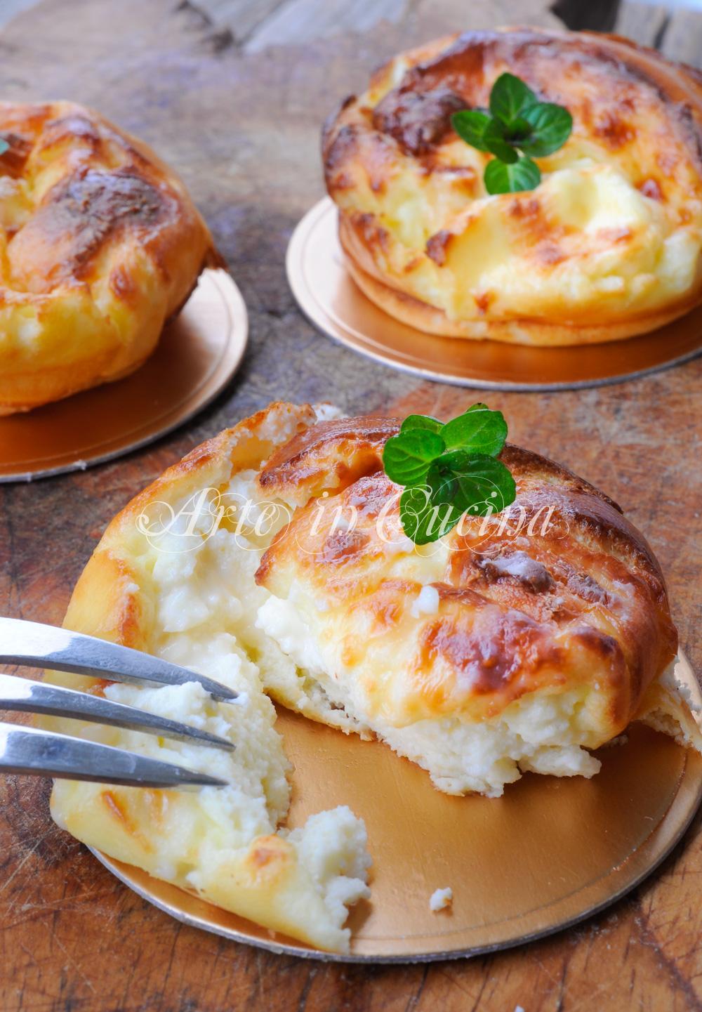 Sformatini al formaggio ricetta facile e veloce arte in for Cucina veloce e semplice