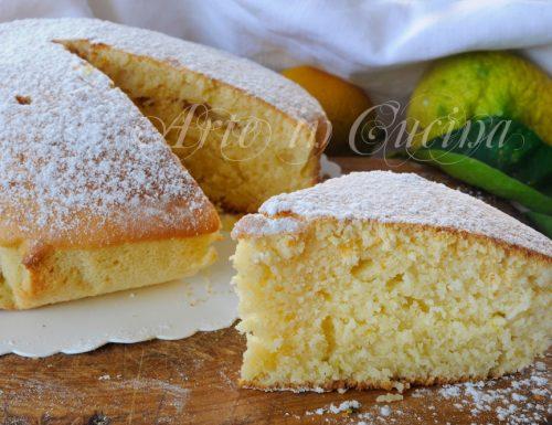 Torta soffice al limone e miele ricetta veloce
