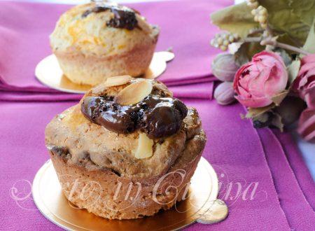Tortine ricotta crema e cuore di cioccolato