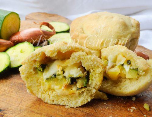 Tortini morbidi pecorino e zucchine ricetta veloce