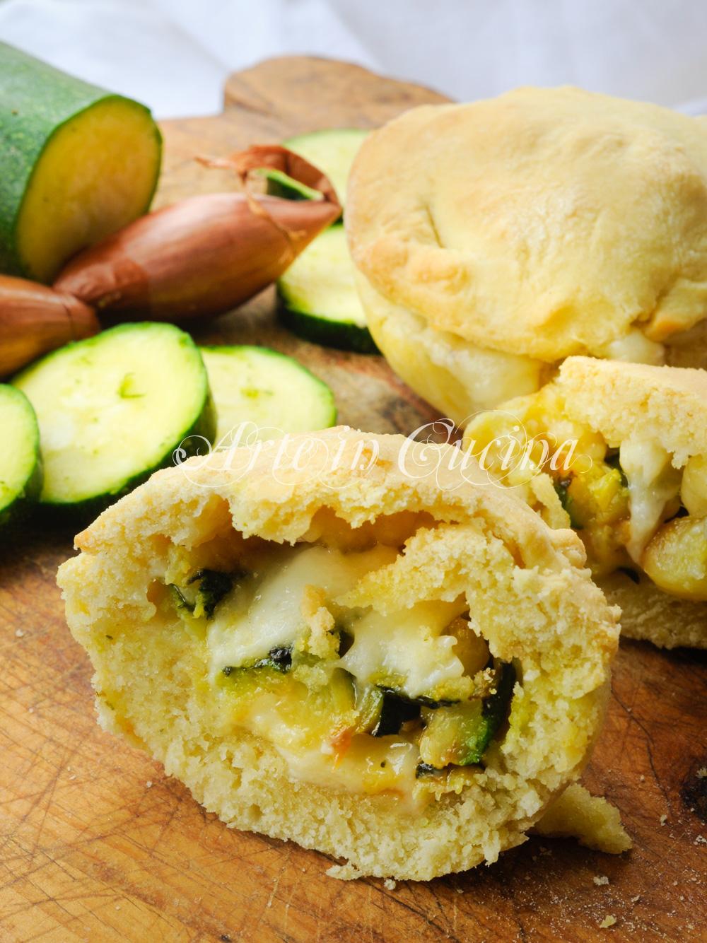 Tortini morbidi pecorino e zucchine ricetta veloce vickyart arte in cucina