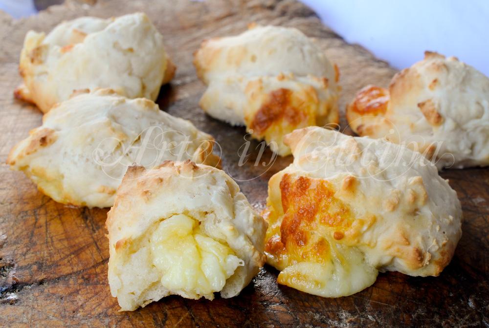 Zeppoline salate veloci alla ricotta in forno vickyart arte in cucina