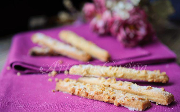 Bastoncini alle mandorle biscotti dolci veloci