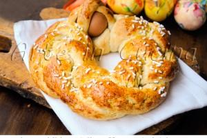 Corrucolo pugliese ciambella veloce dolce di Pasqua