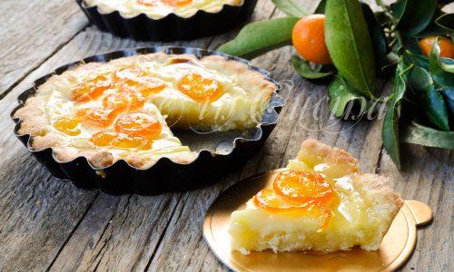 Crostatine crema e kumquat caramellati ricetta facile