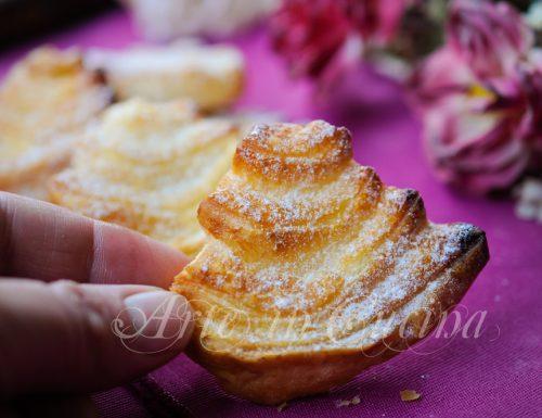 Palmine di sfoglia ricetta dolce veloce