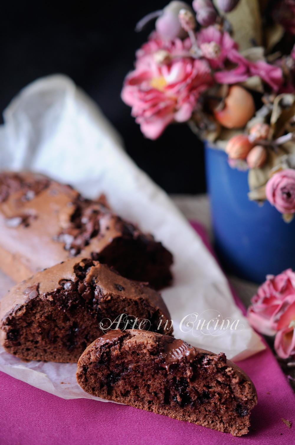 Plumcake integrale al cioccolato dolce leggero vickyart arte in cucina